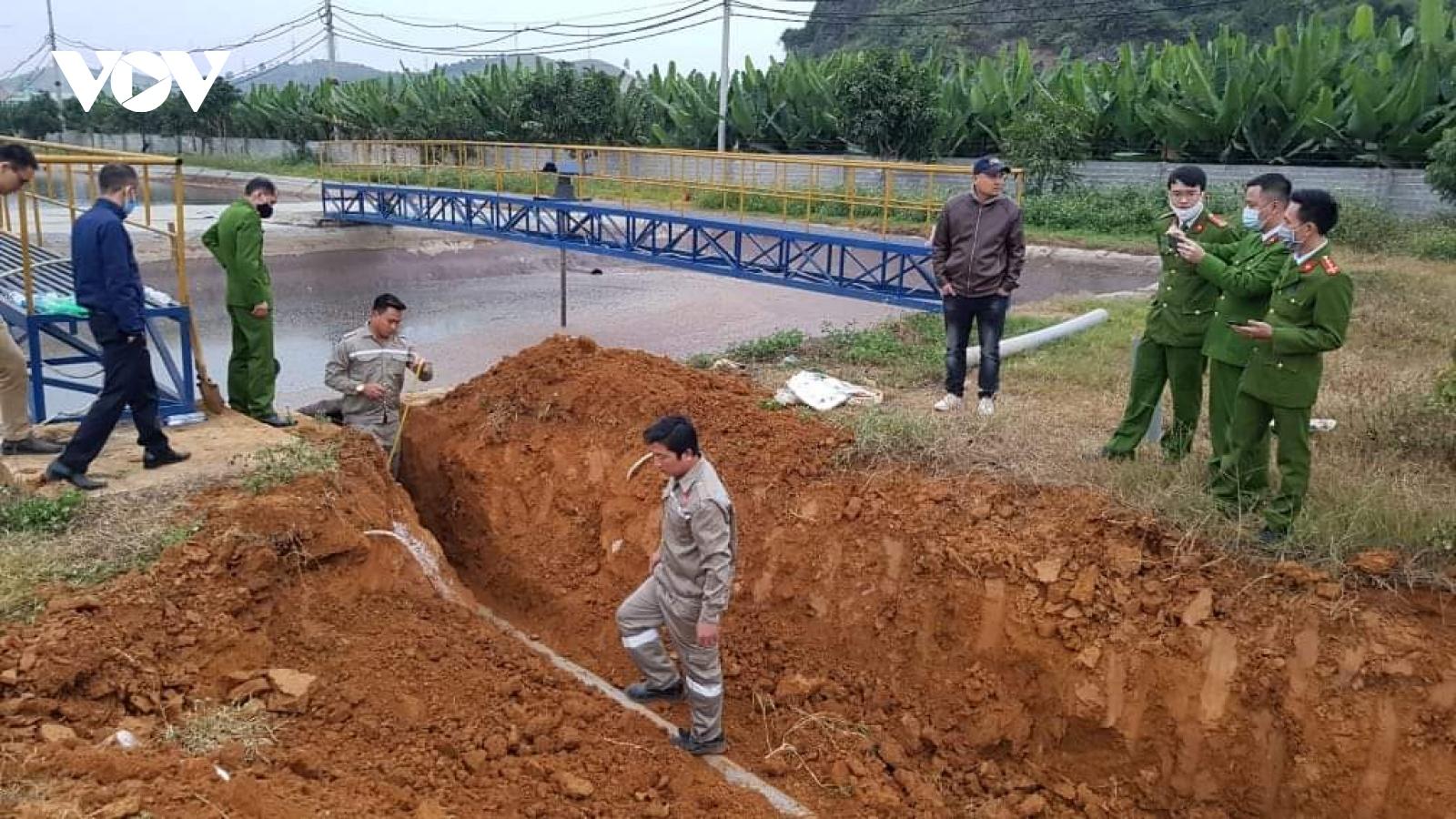 Công ty chế biến nông sản BHL Sơn La có dấu hiệu xả nước thải chưa xử lý ra môi trường