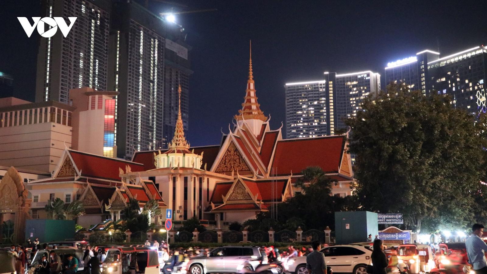 Không khí đón mừng năm mới tại Campuchia