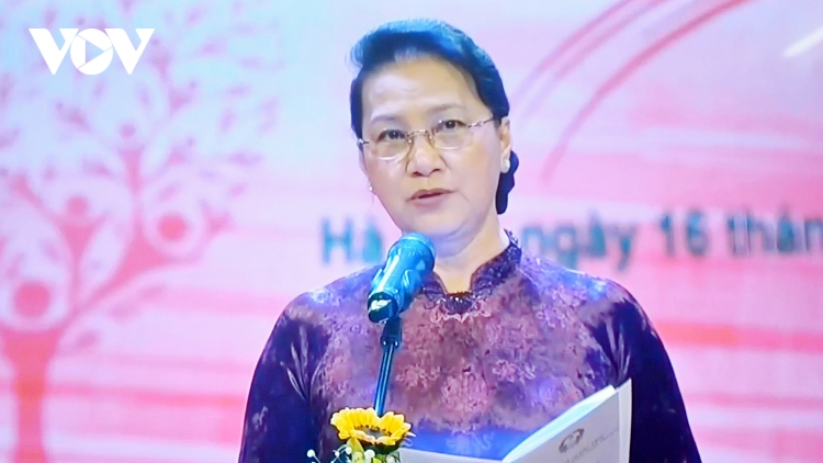 """Chủ tịch Quốc hội dự chương trình """"Sức mạnh Nhân đạo 2021"""""""