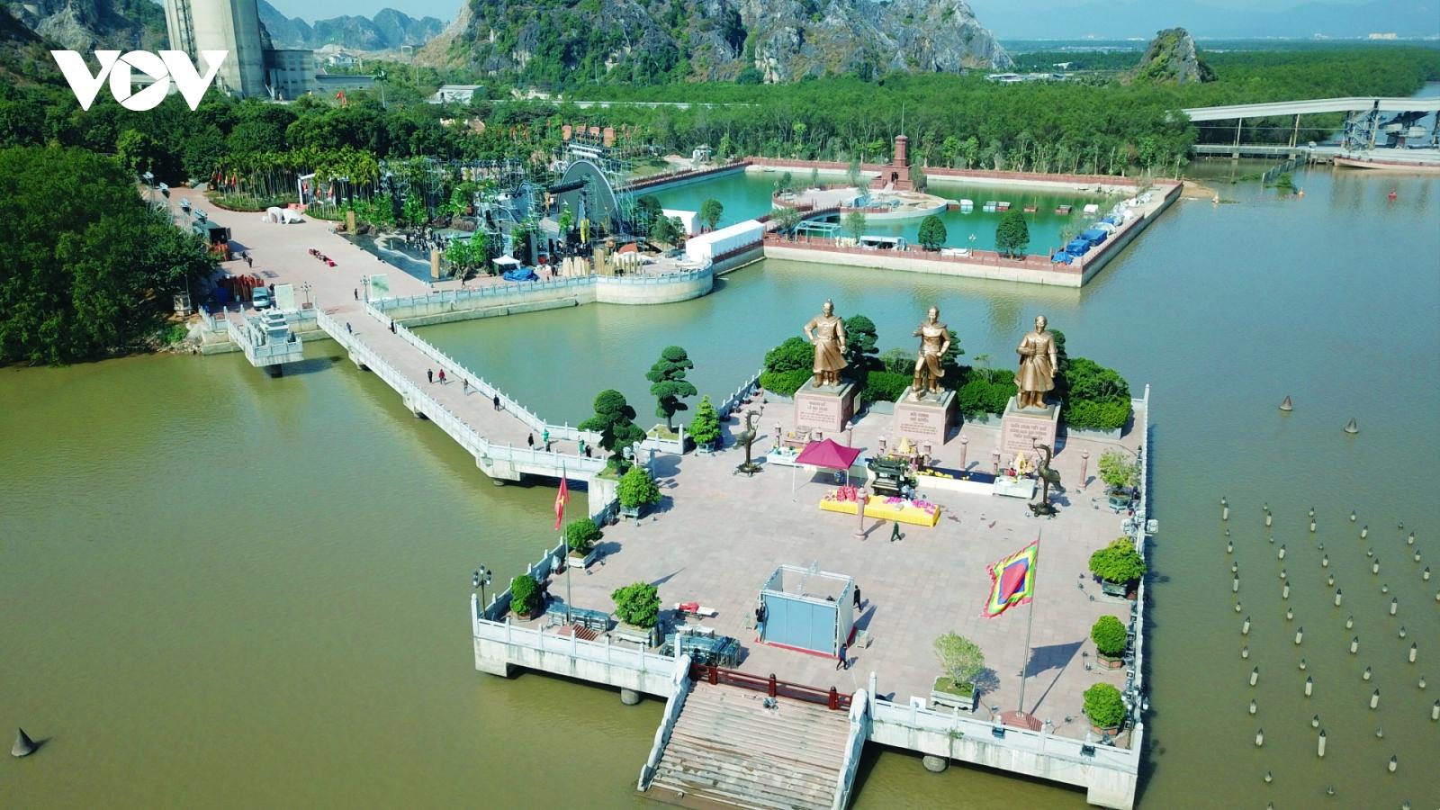 Di tích lịch sử Quốc gia Bạch Đằng Giang - Nơi hội tụ hồn thiêng sông núi