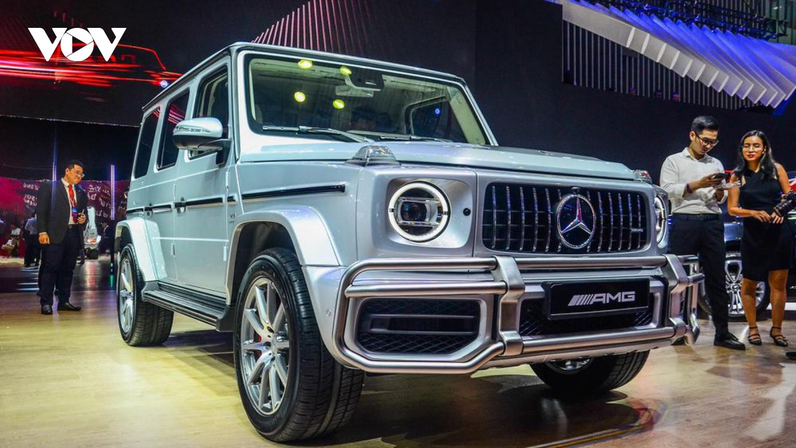 Nhiều mẫu xe Mercedes-Benz tại Việt Nam tăng giá đầu năm 2021