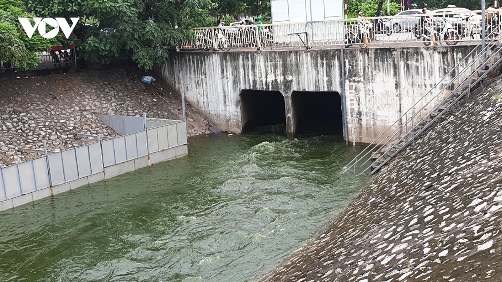 Hà Nội đề xuất phương án dẫn nước sông Hồng vàosông Tô Lịch qua cống Liên Mạc