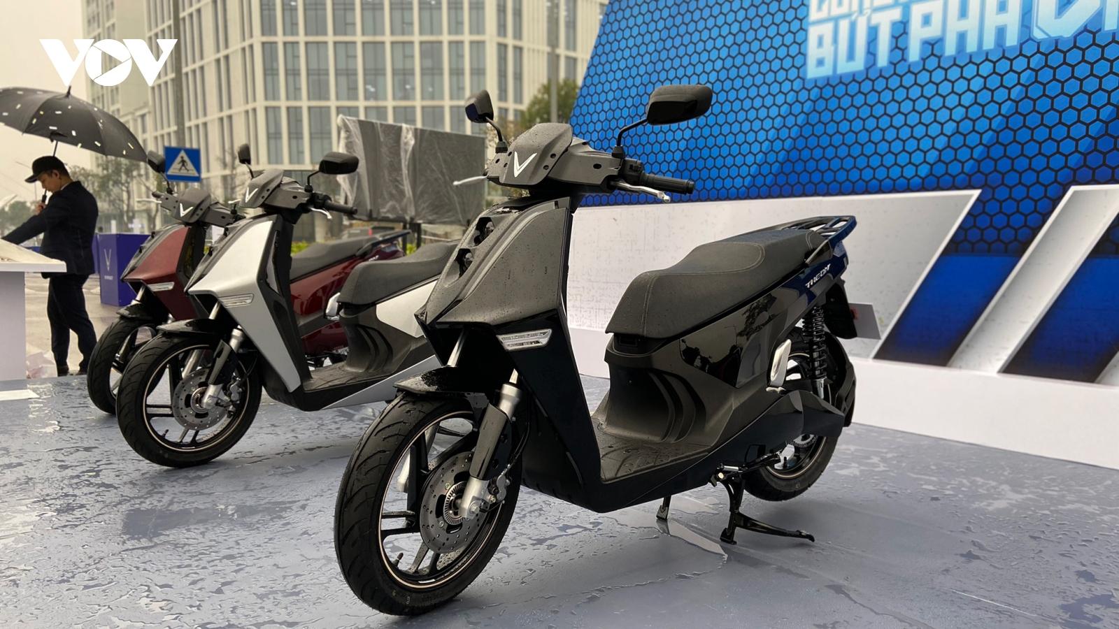 VinFast ra mắt bộ đôi xe máy điện mới với nhiều công nghệ tiên tiến
