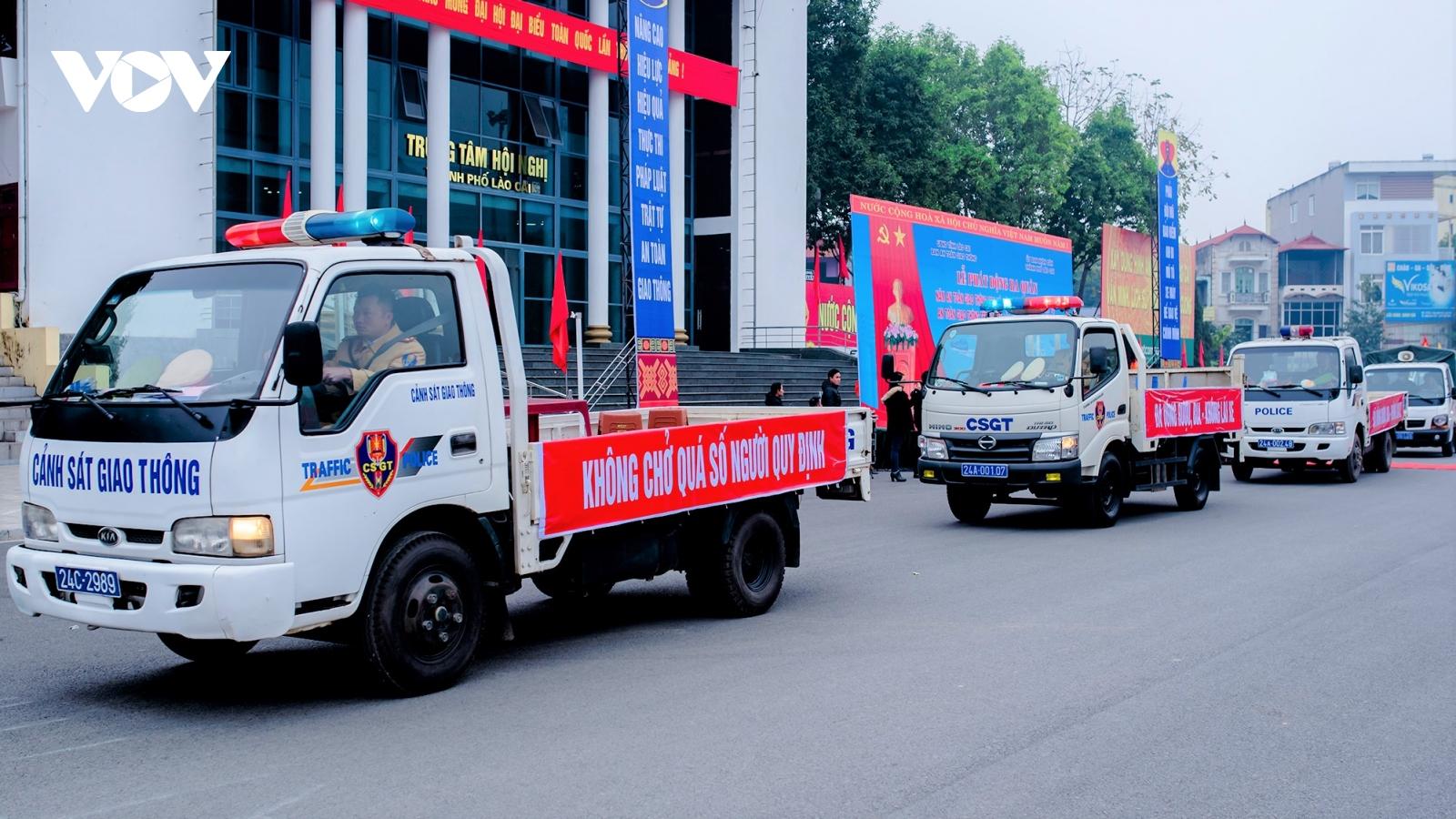 Tai nạn giao thông ở Lào Cai tăng cả về số vụ, số người chết