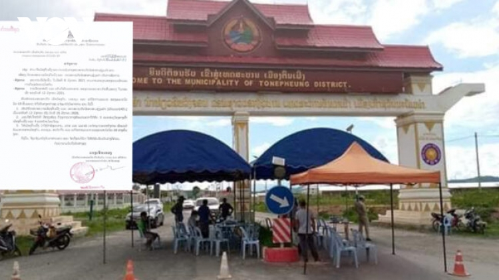 Lào tái phong tỏa Đặc khu kinh tế Tam Giác Vàng vì Covid-19