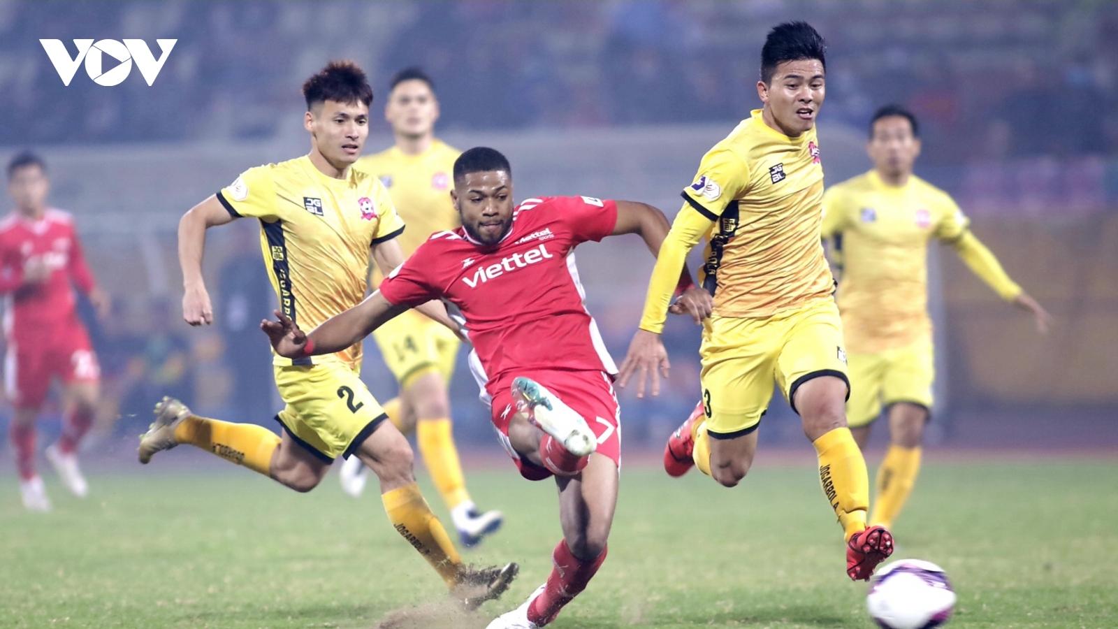 Thua 0-1 trước Hải Phòng, ĐKVĐ V-League Viettel trắng tay trận mở màn mùa giải mới