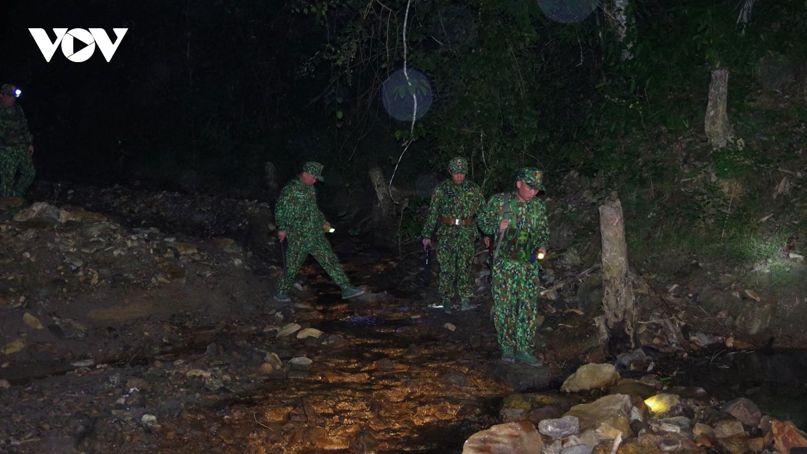 Trong giá rét, bộ đội Biên phòngchốt giữ đường mòn lối mở