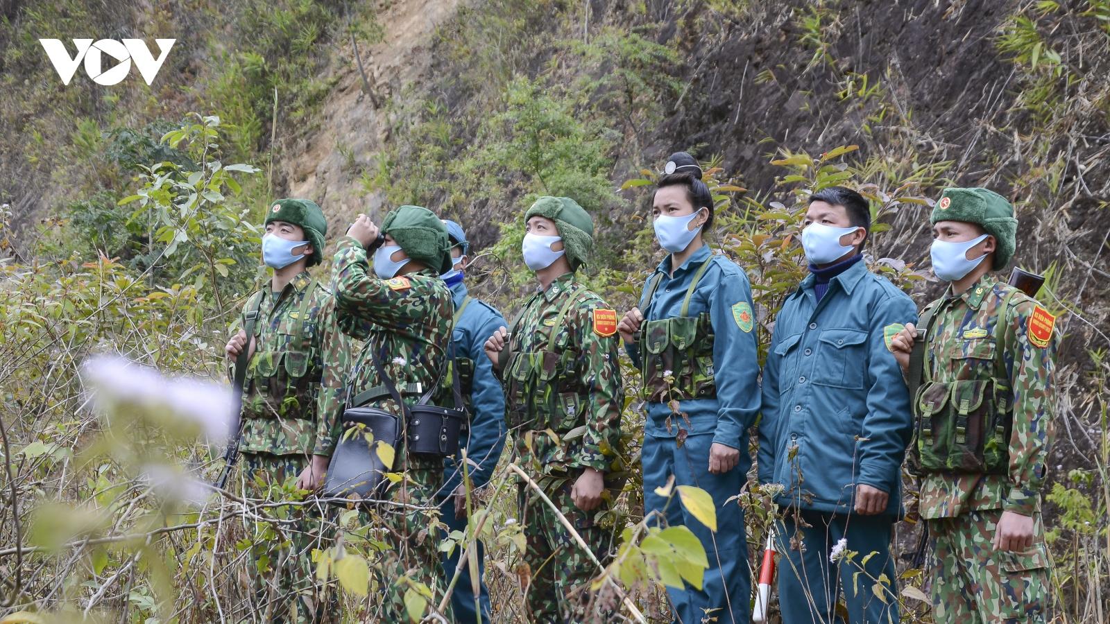 Bộ đội Biên phòng bám chốt tuần tra trong giá rét