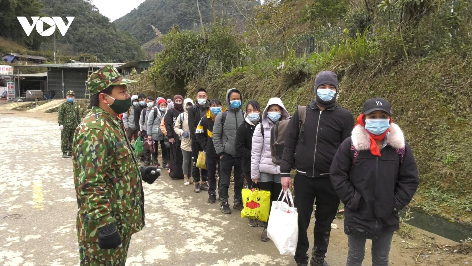 Bộ đội Biên phòng Lào Cai ngăn chặn 35 đối tượng nhập cảnh trái phép