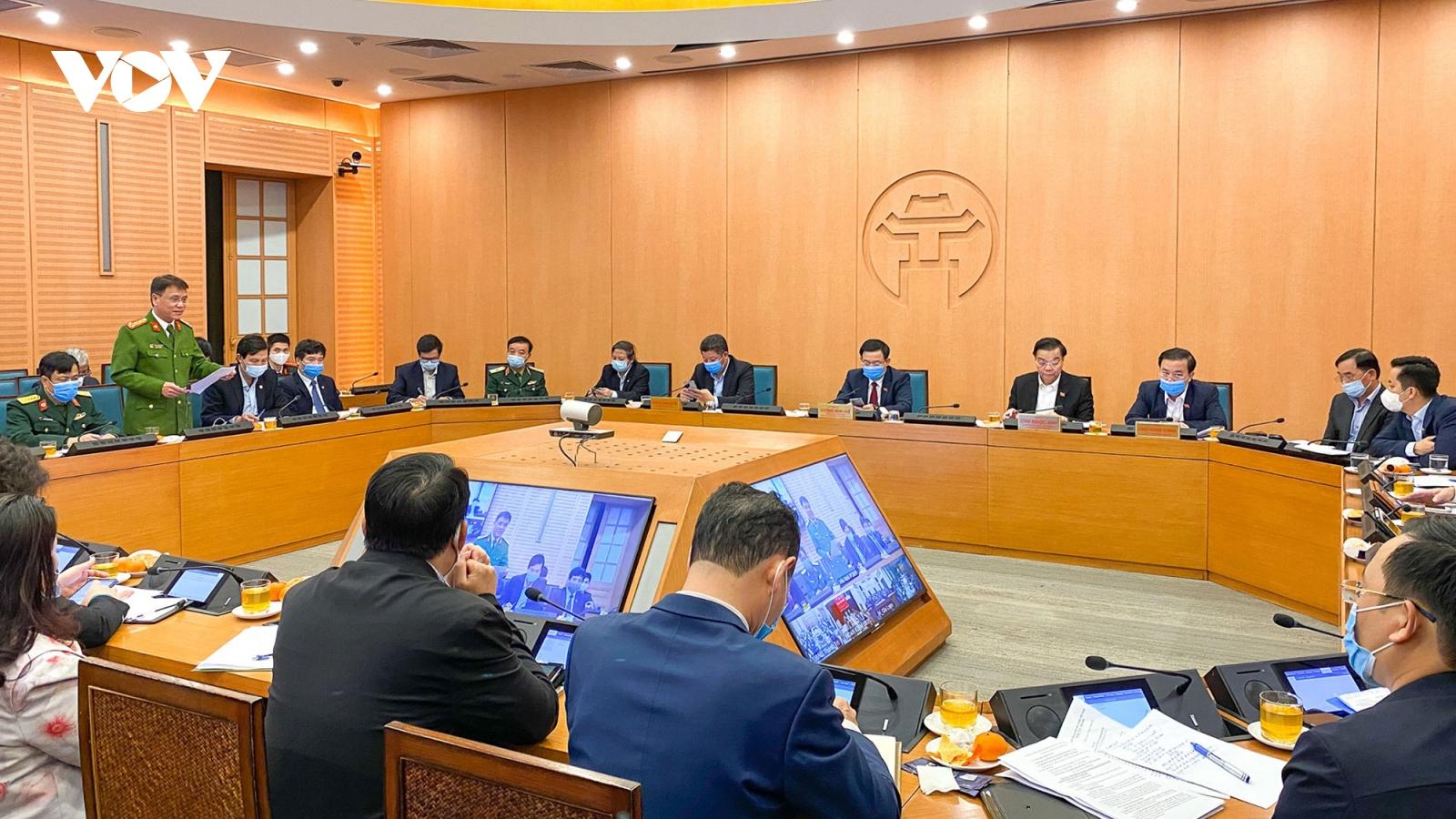 Bí thư Thành ủy Hà Nội: Phòng chống dịch Covid-19 phải nhanh hơn, nhạy bén hơn