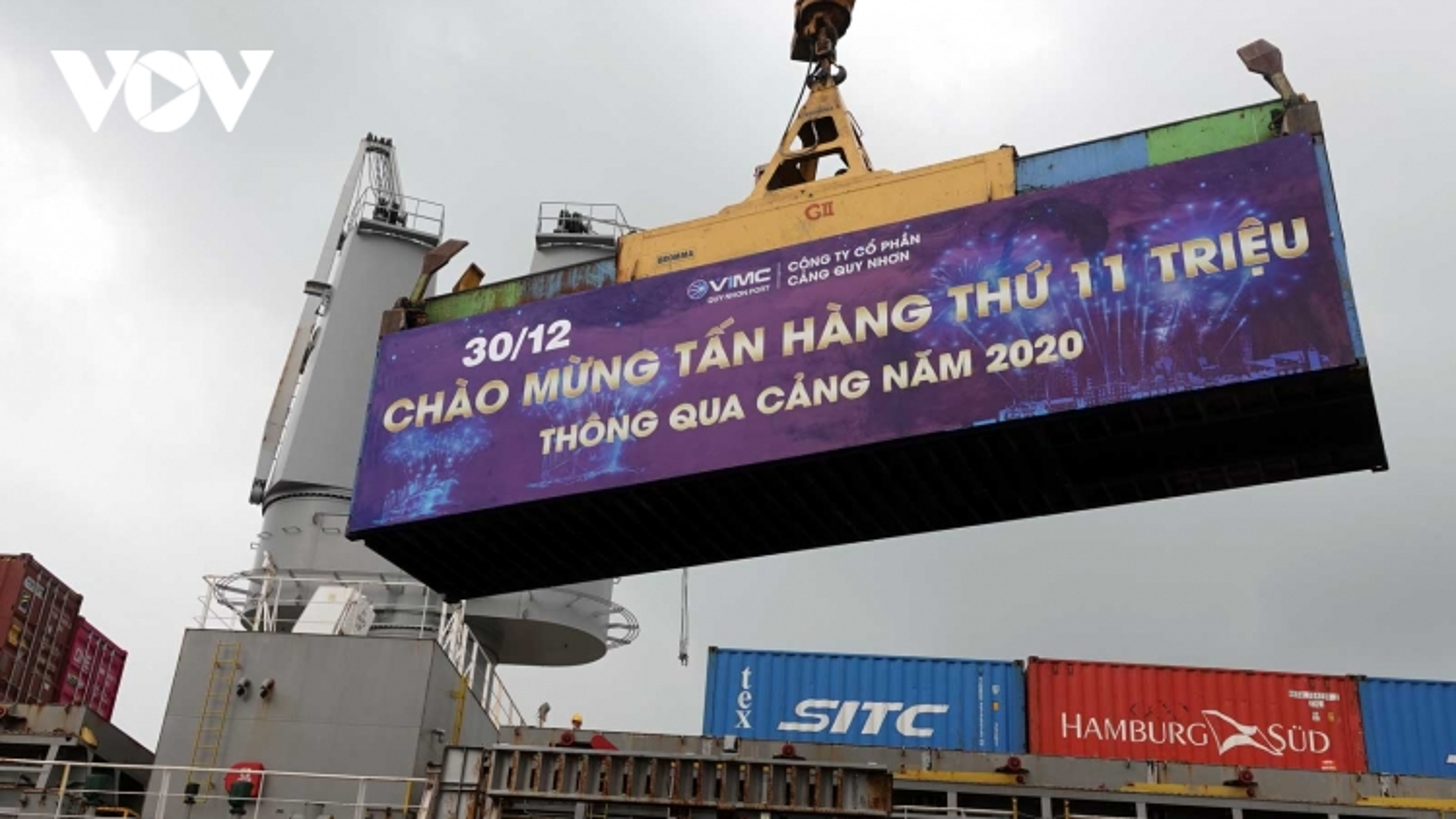 """Cảng Quy Nhơn bứt phá ngoạn mục khi """"trở về"""" Nhà nước"""