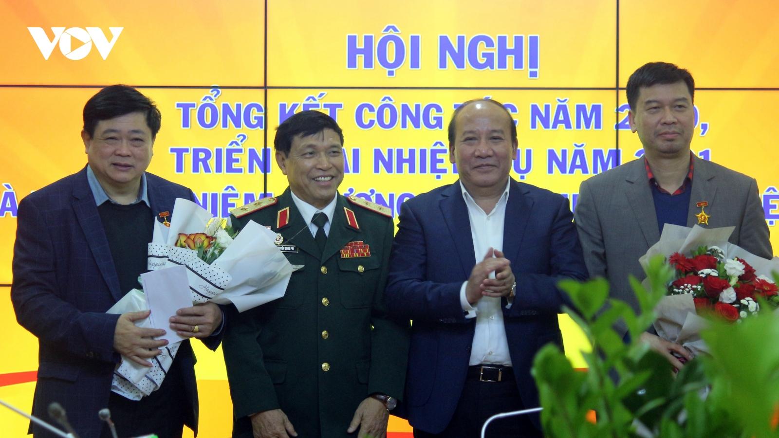 Hội Cựu chiến binh Đài Tiếng nói Việt Nam vượt lên khó khăn đạt nhiều thành tích
