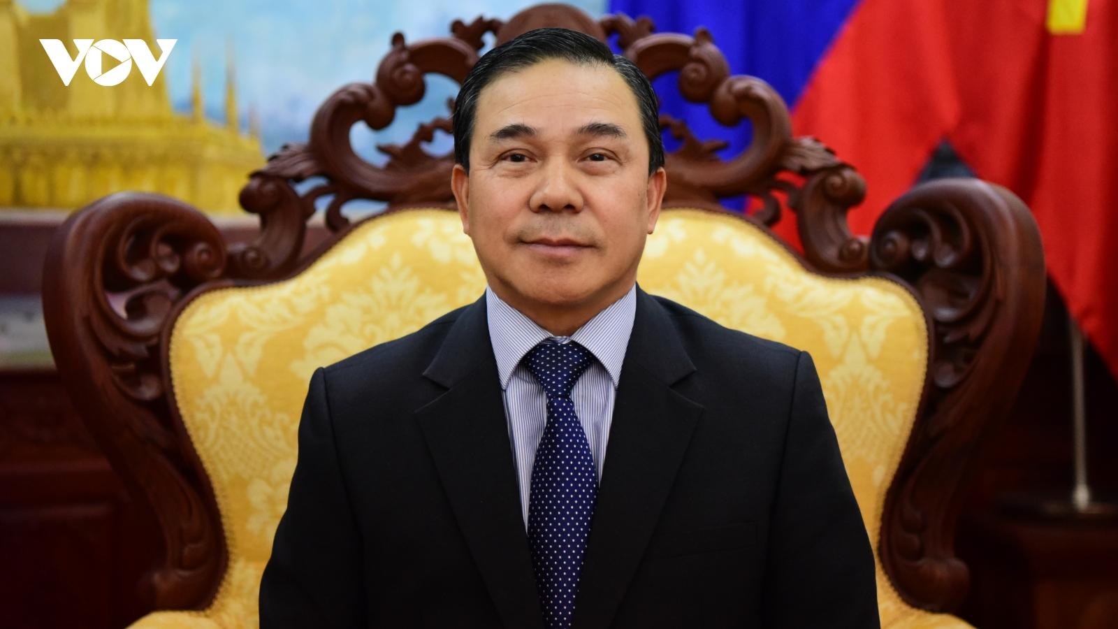 """Đại sứ Lào tại Việt Nam: """"Nhân sự Đại hội XIII của Đảng CSVN được chuẩn bị kỹ lưỡng"""""""