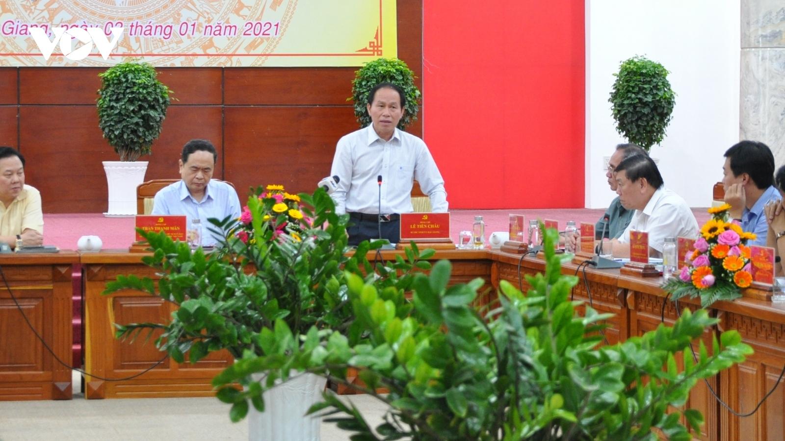 Ủy ban Quản lý vốn Nhà nước tại doanh nghiệp làm việc với lãnh đạo các tỉnh, thành ĐBSCL