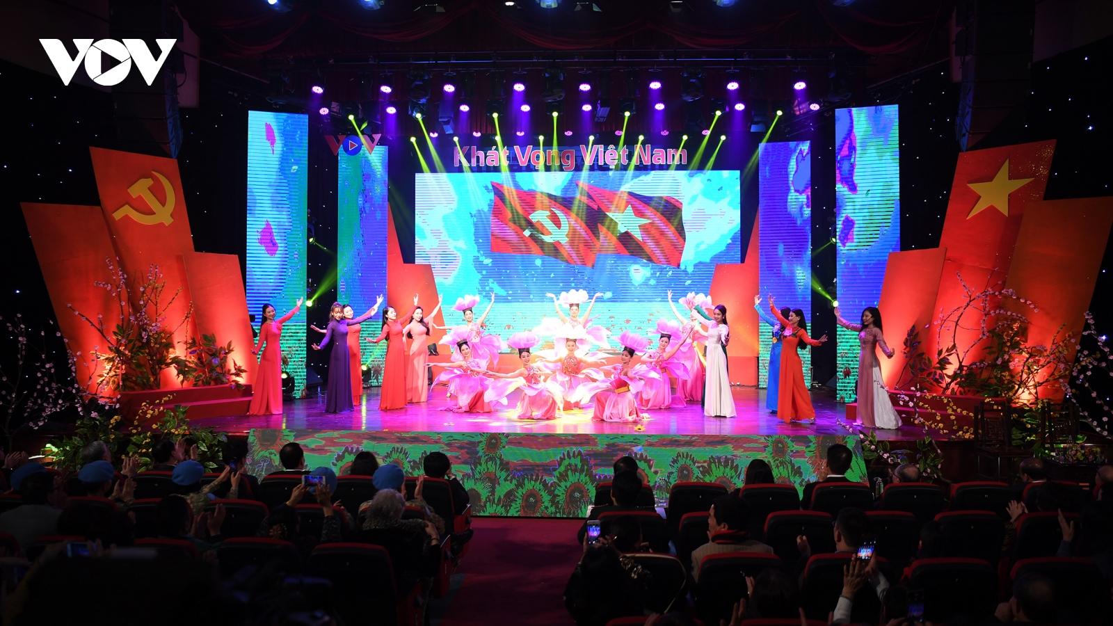 VOV tổ chức giao lưu nghệ thuật chào mừng Đại hội XIII của Đảng