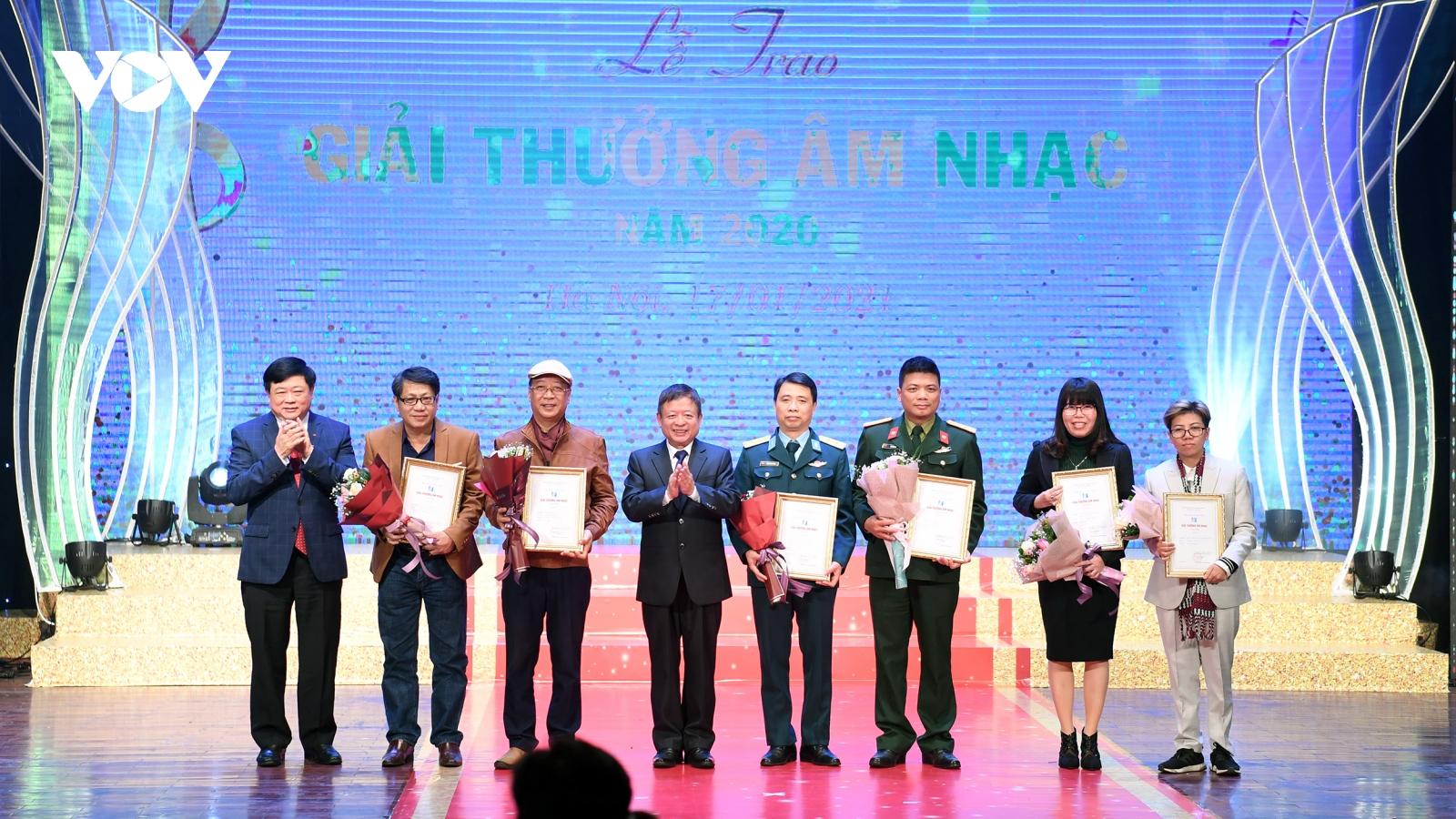 Hội Nhạc sĩ Việt Nam trao giải cho 78 công trình, tác phẩm xuất sắc