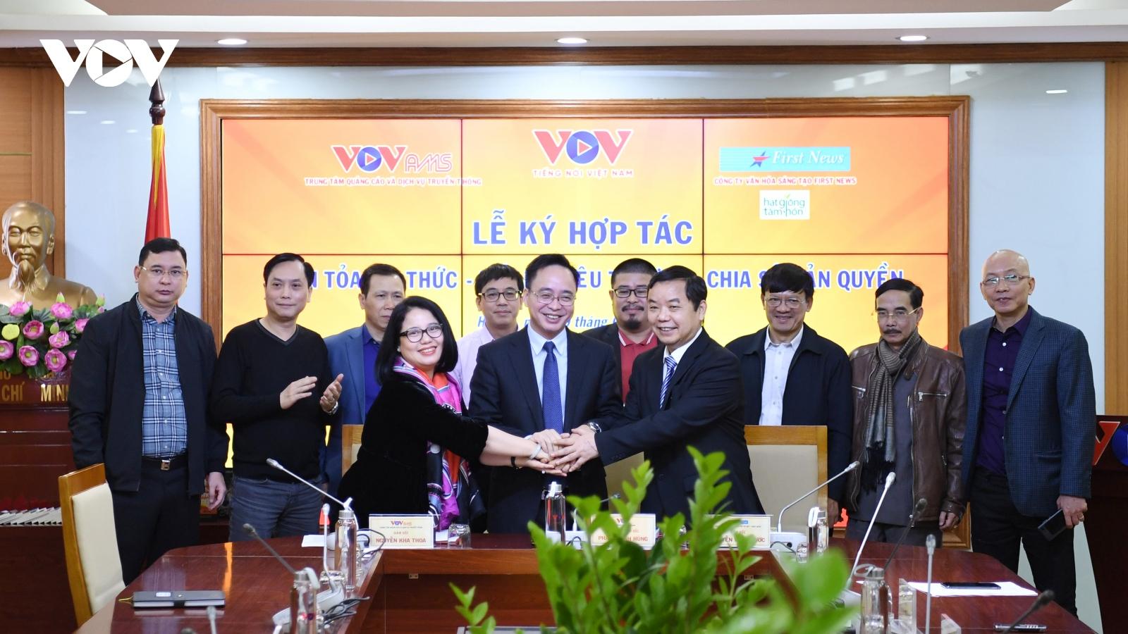 VOV và First News - Trí Việt hợp tác chia sẻ bản quyền, lan toả tri thức