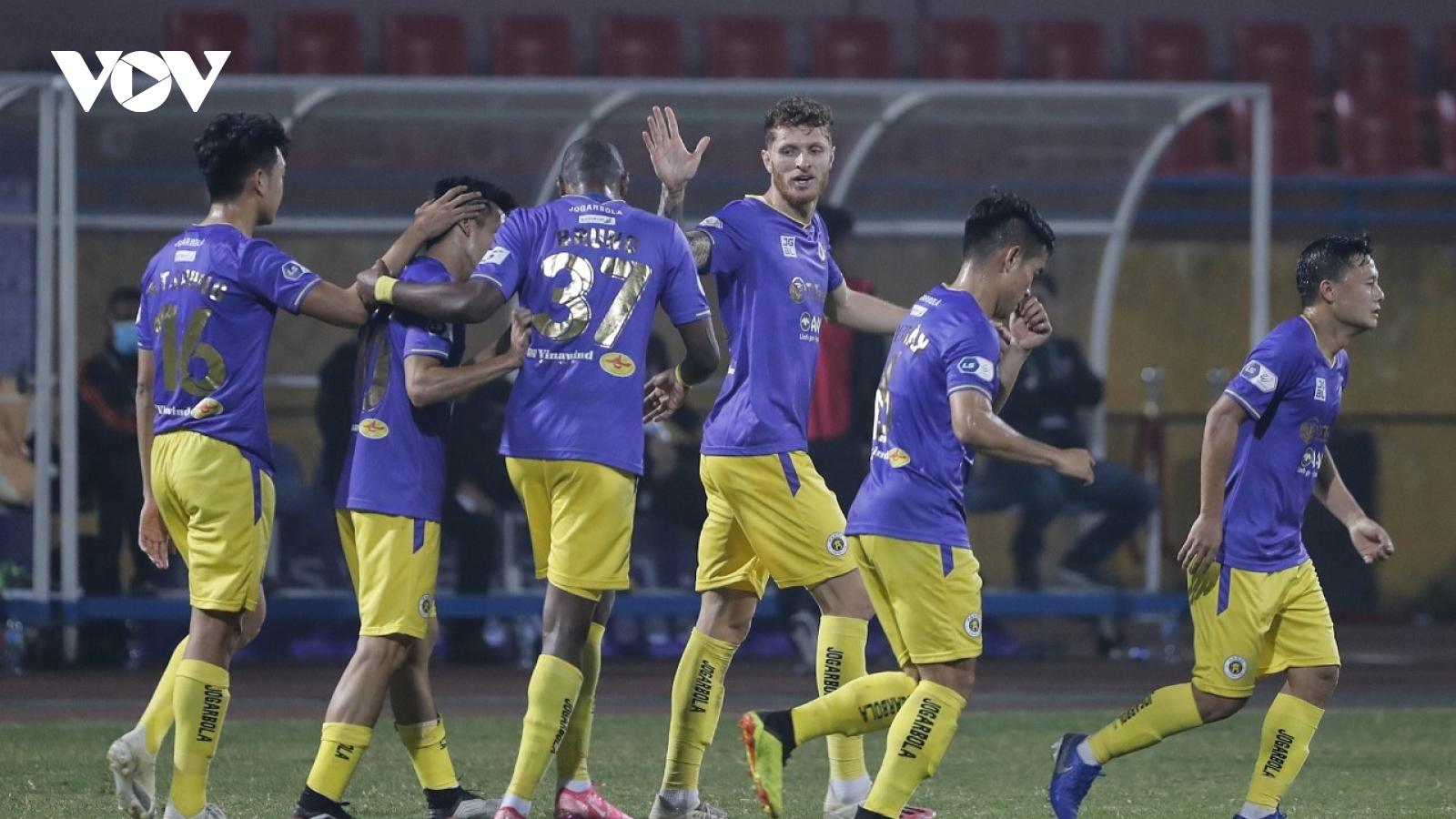 TRỰC TIẾP Hà Nội FC 1-0 Bình Dương: Việt Anh kiến tạo, Geovane lập công