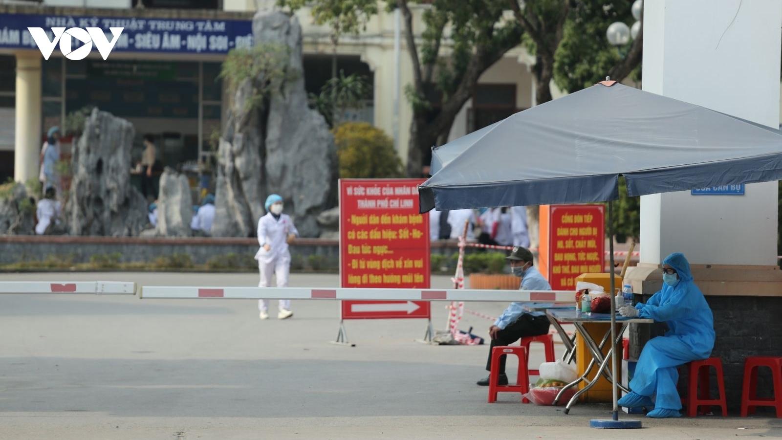 Hải Dương tăng tốc truy vết trên diện rộng ở Thị xã Kinh Môn