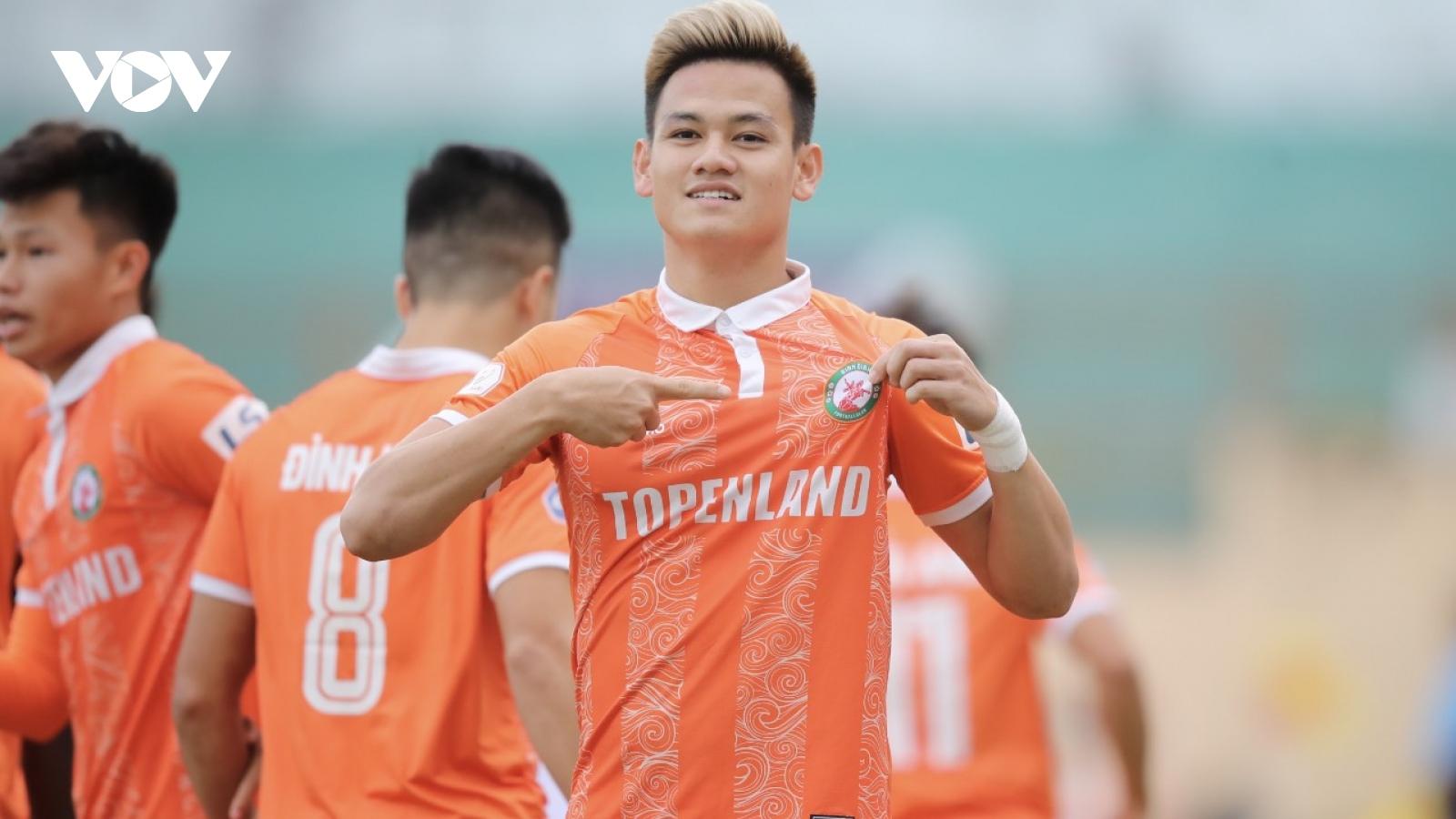 Hồ Tấn Tài ghi bàn, Bình Định thắng thuyết phục Sài Gòn FC