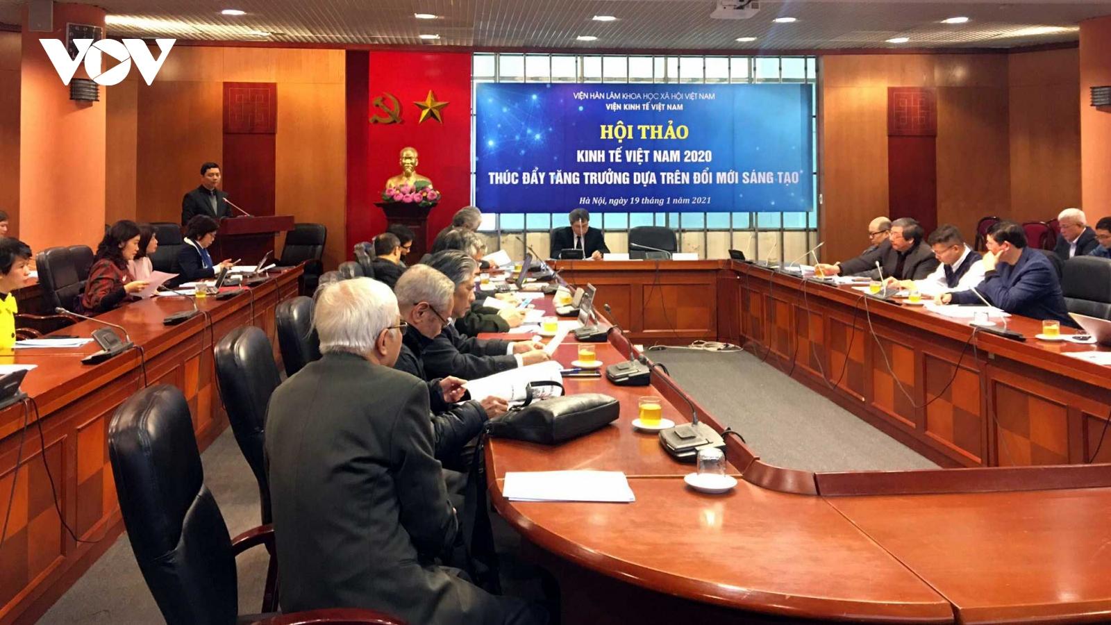 Tăng trưởng kinh tế Việt Nam 2021 dựa trên đổi mới sáng tạo