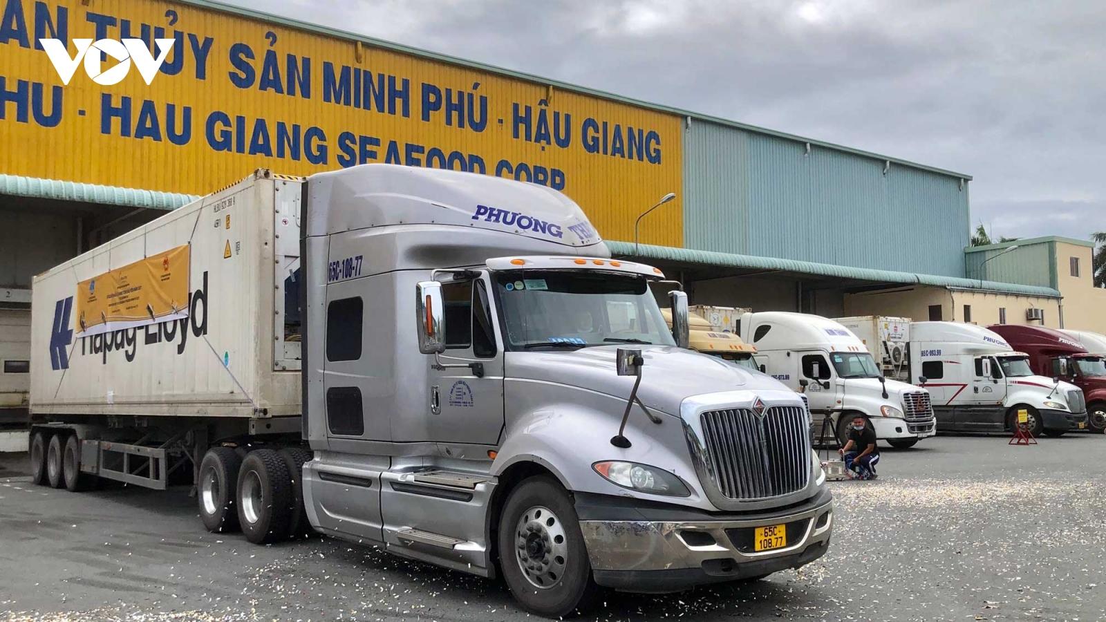 Xuất khẩu lô hàng tôm 160 tấn đầu năm 2021 đi EU, Mỹ, Nhật