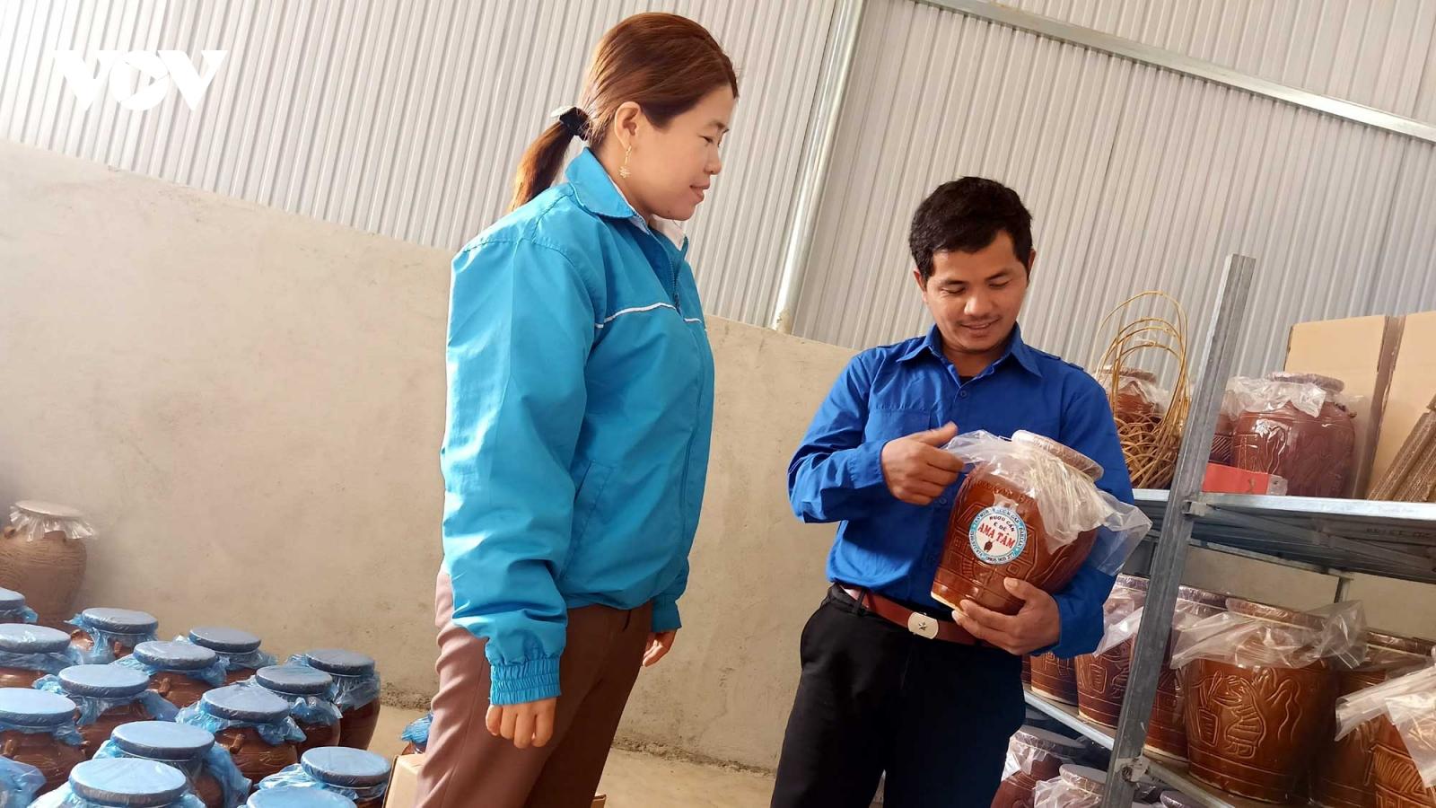Thanh niên Đắk Lắk đánh thức tiềm năng khát vọng làm giàu