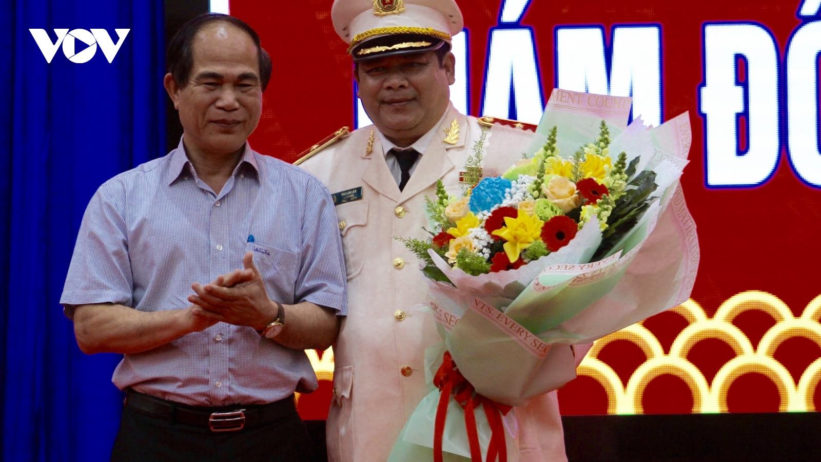 Giám đốc Công an tỉnh Gia Lai được phong quân hàm Thiếu tướng