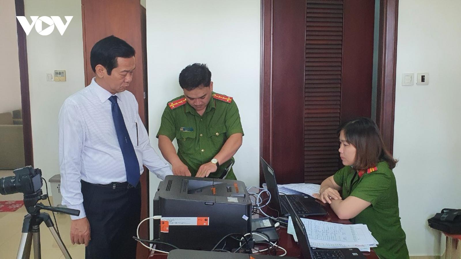 Kiên Giang bắt đầu triển khai cấp căn cước công dân mới có gắn thẻ chíp điện tử