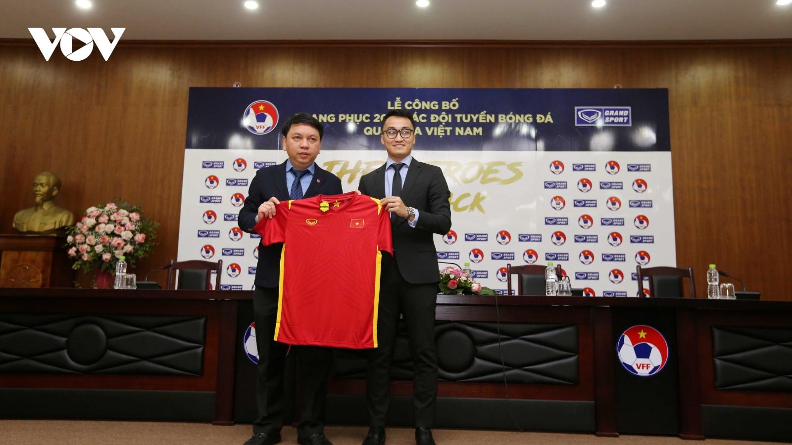 Thương hiệu ĐT Việt Nam được kỳ vọng lan tỏa mạnh mẽ với mẫu áo đấu mới năm 2021
