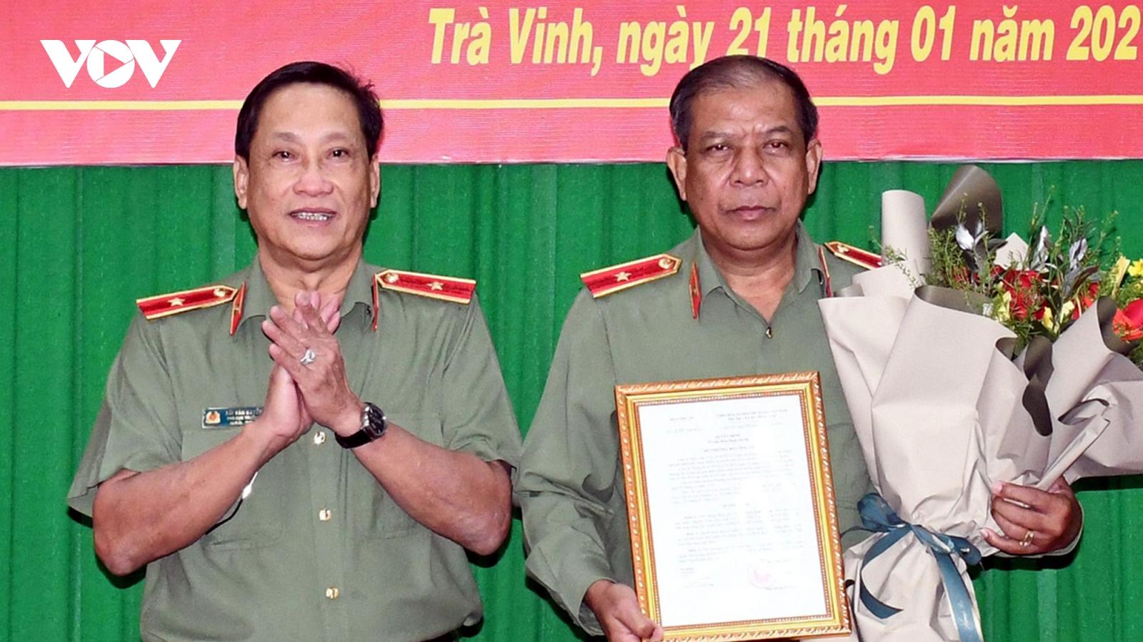 2 cán bộ Công an An Giang và Trà Vinh nhận nhiệm vụ mới
