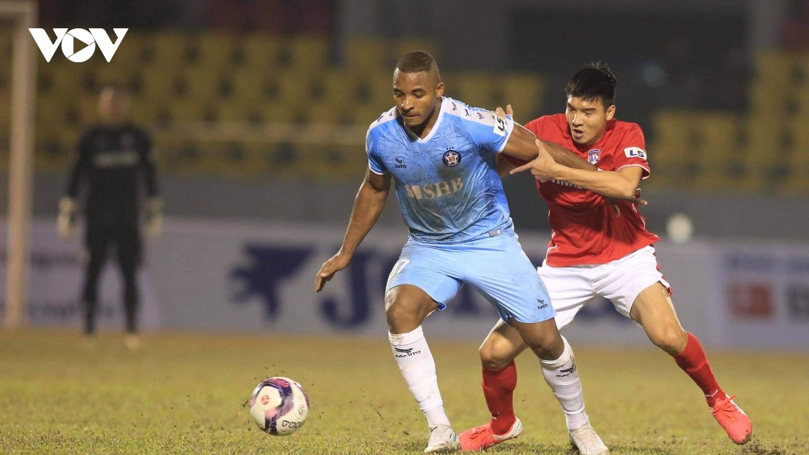 Rafaelson ghi bàn, Đà Nẵng đánh bại Than Quảng Ninh