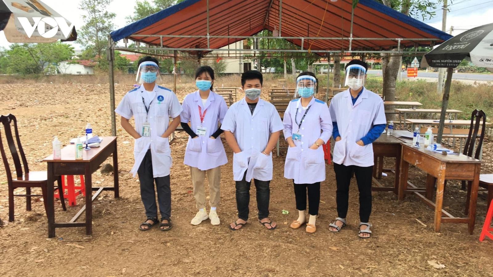 Đắk Lắk huy động 100 sinh viên ngành y, dược tham gia chống dịch Covid-19
