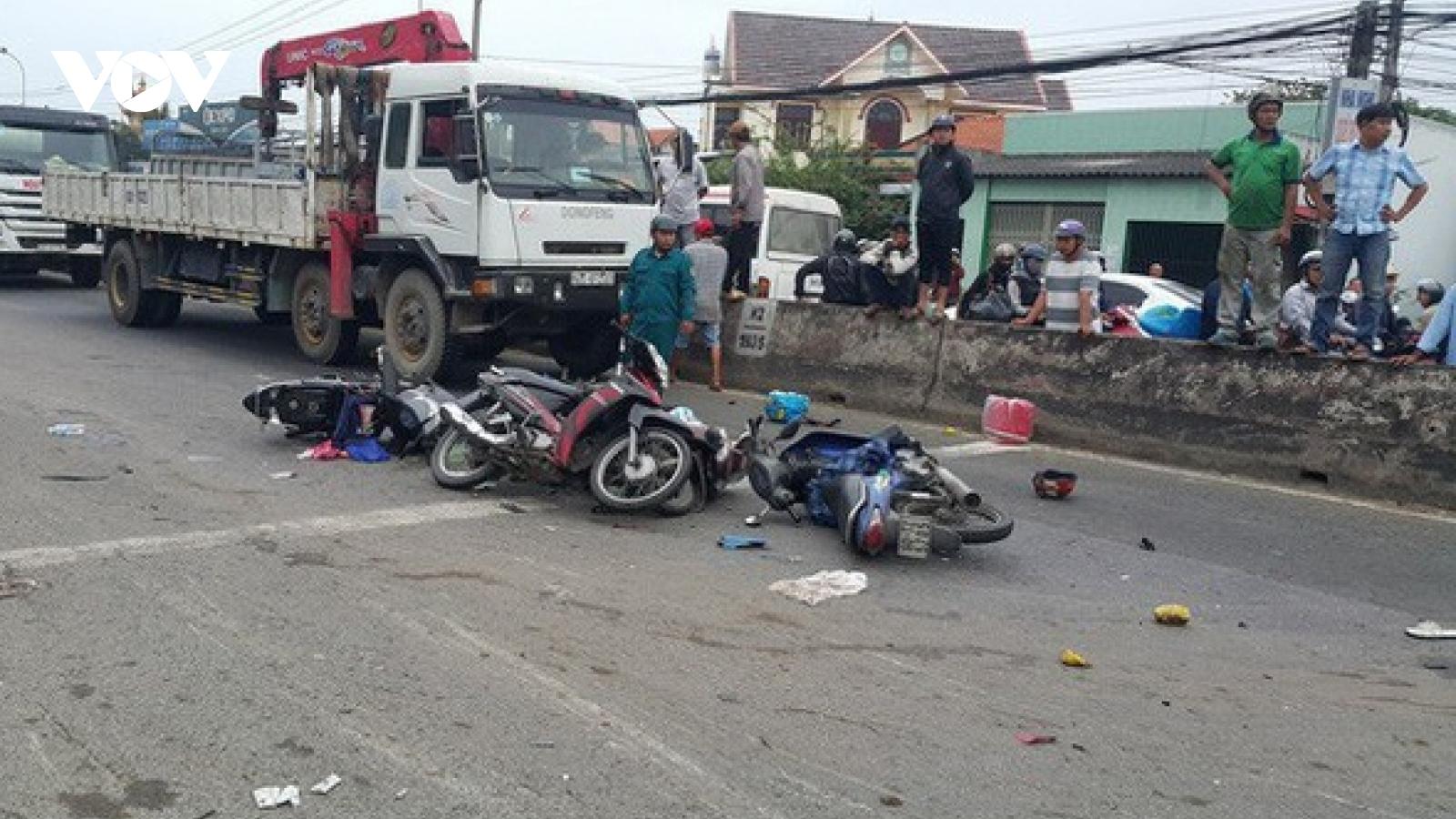 40 người chết do tai nạn giao thông trong 3ngày nghỉ Tết Dương lịch