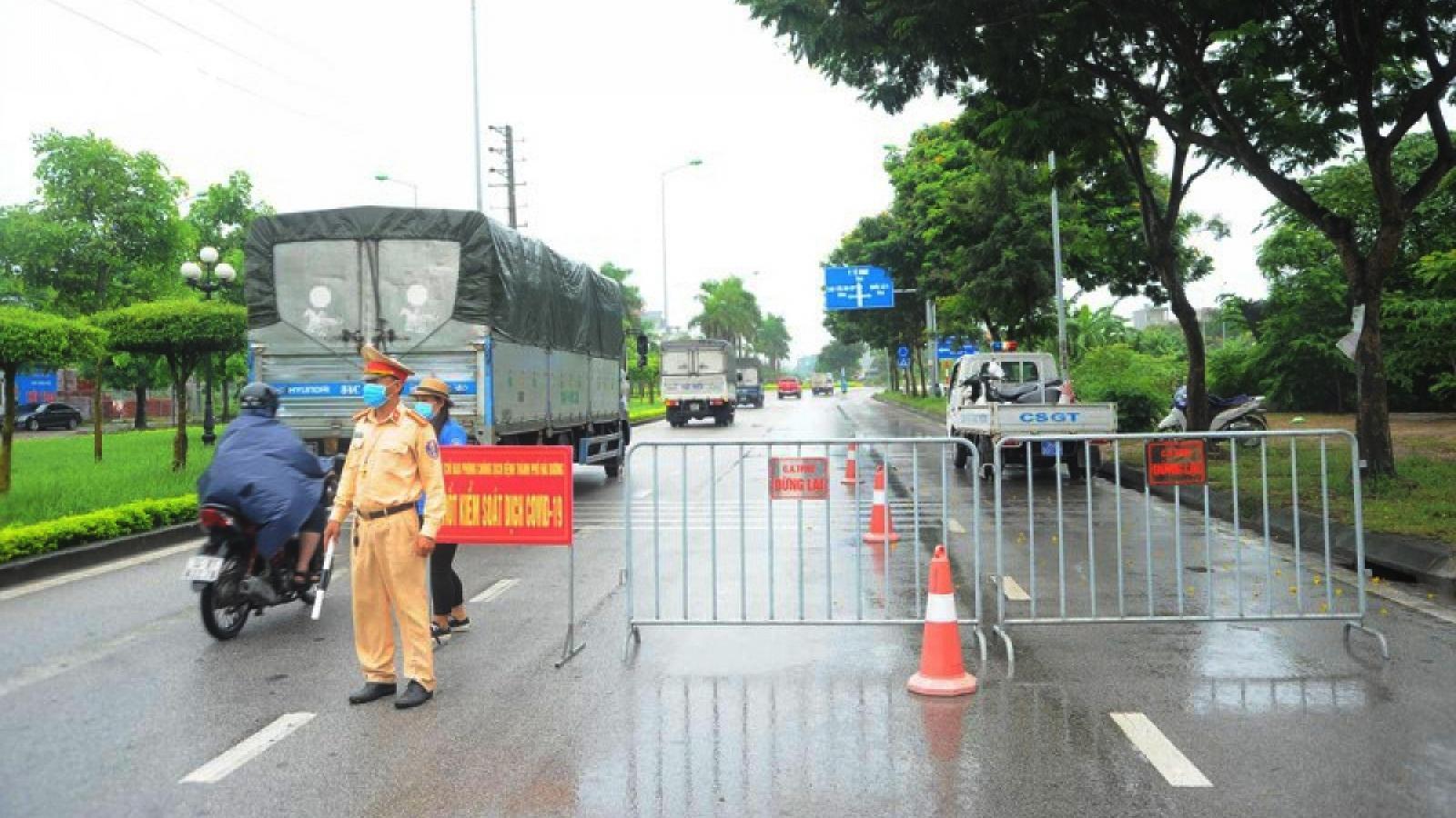 Yên Bái tạm dừng vận tải hành khách đi Hải Dương và Quảng Ninh