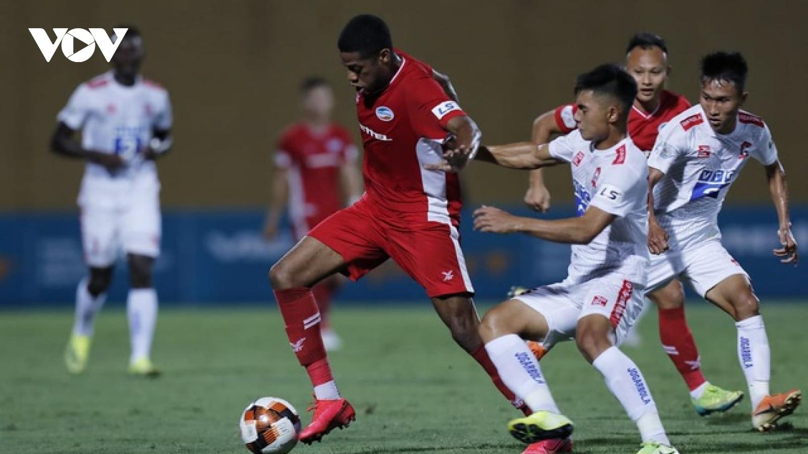 TRỰC TIẾP Viettel - Hải Phòng: Đương kim vô địch V-League ra quân