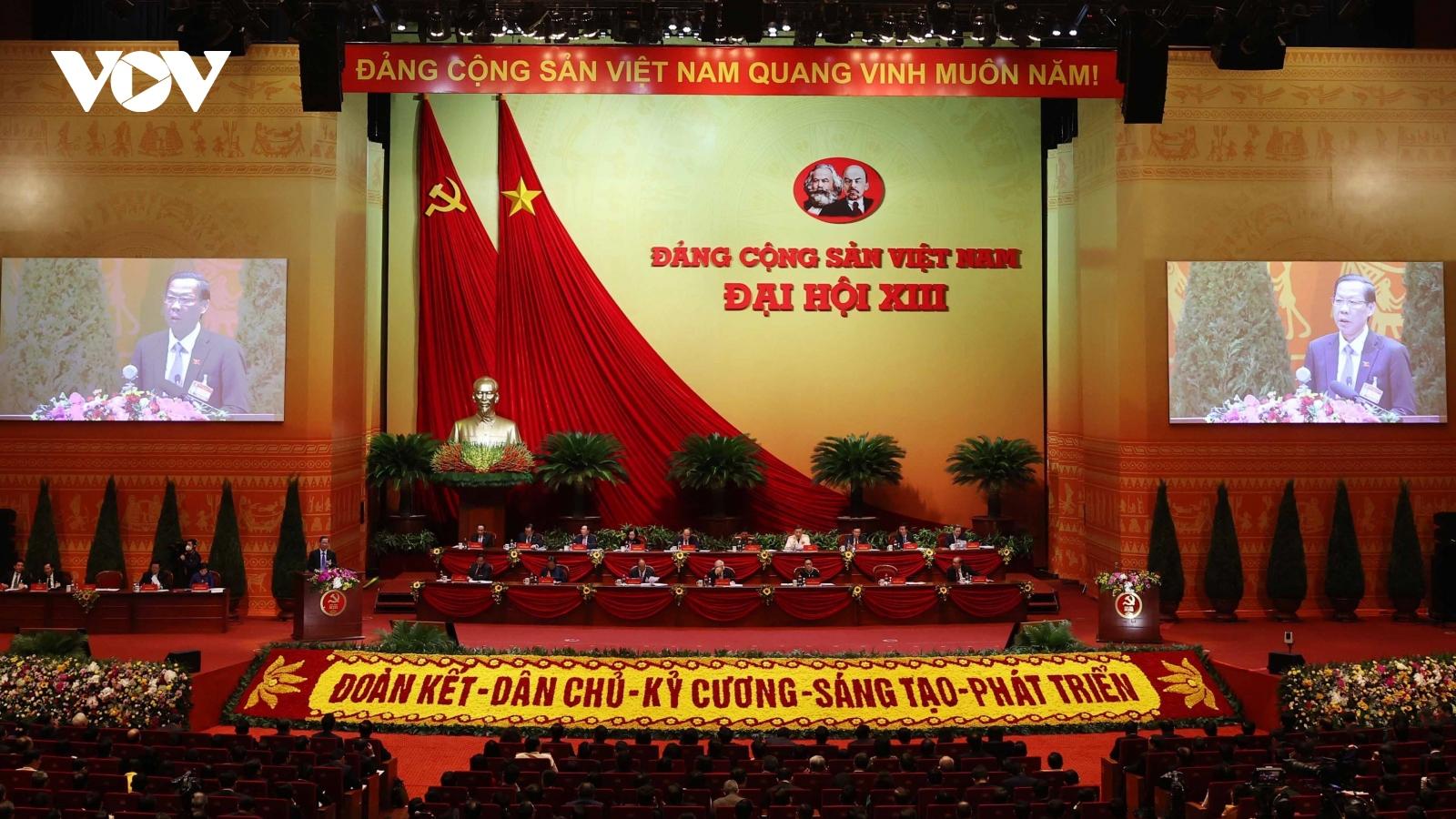 Nhiều chính đảng, tổ chức, gửi thư, điện chúc mừng Đại hội lần thứ XIII