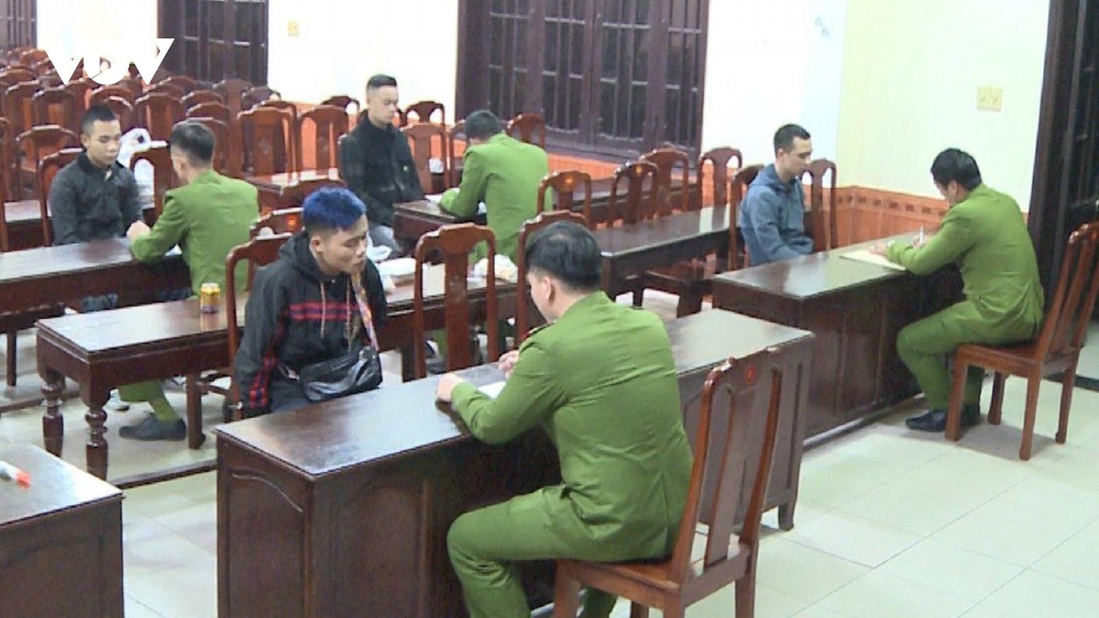 Nhóm đối tượng cho vay nặng lãi tại Thừa Thiên Huế sa lưới
