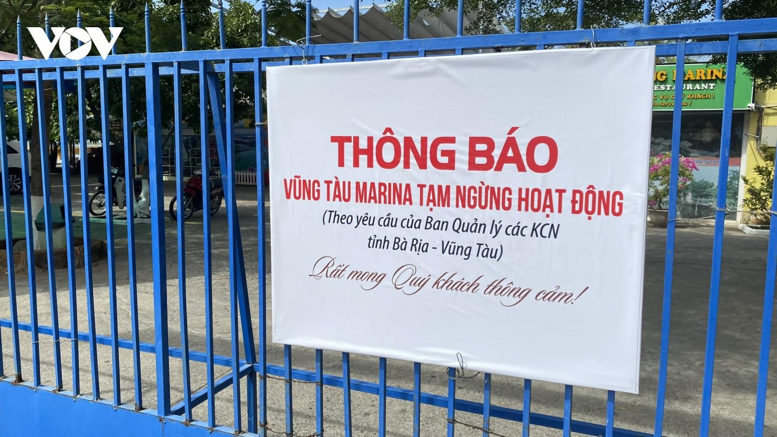 Hàng trăm lao động nguy cơ mất Tết vì Vũng Tàu-Marina bị buộc dừng hoạt động