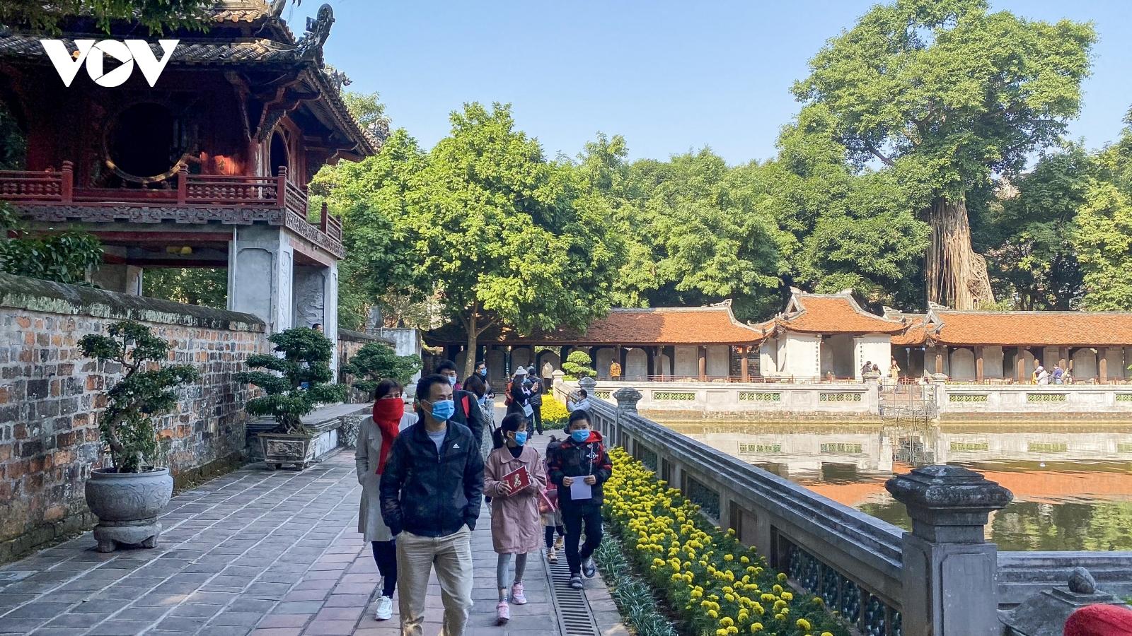 Giảm giá tour tới 35% tại Lễ hội du lịch và văn hóa ẩm thực Hà Nội 2021