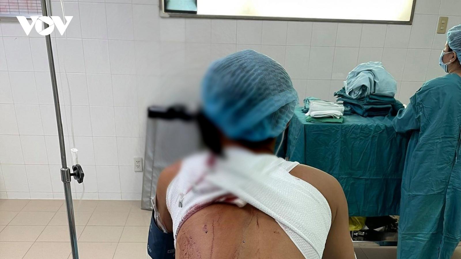 Bắt giữ 2 đối tượng đánh, chém ngườinhập viện cấp cứu ở Tiền Giang