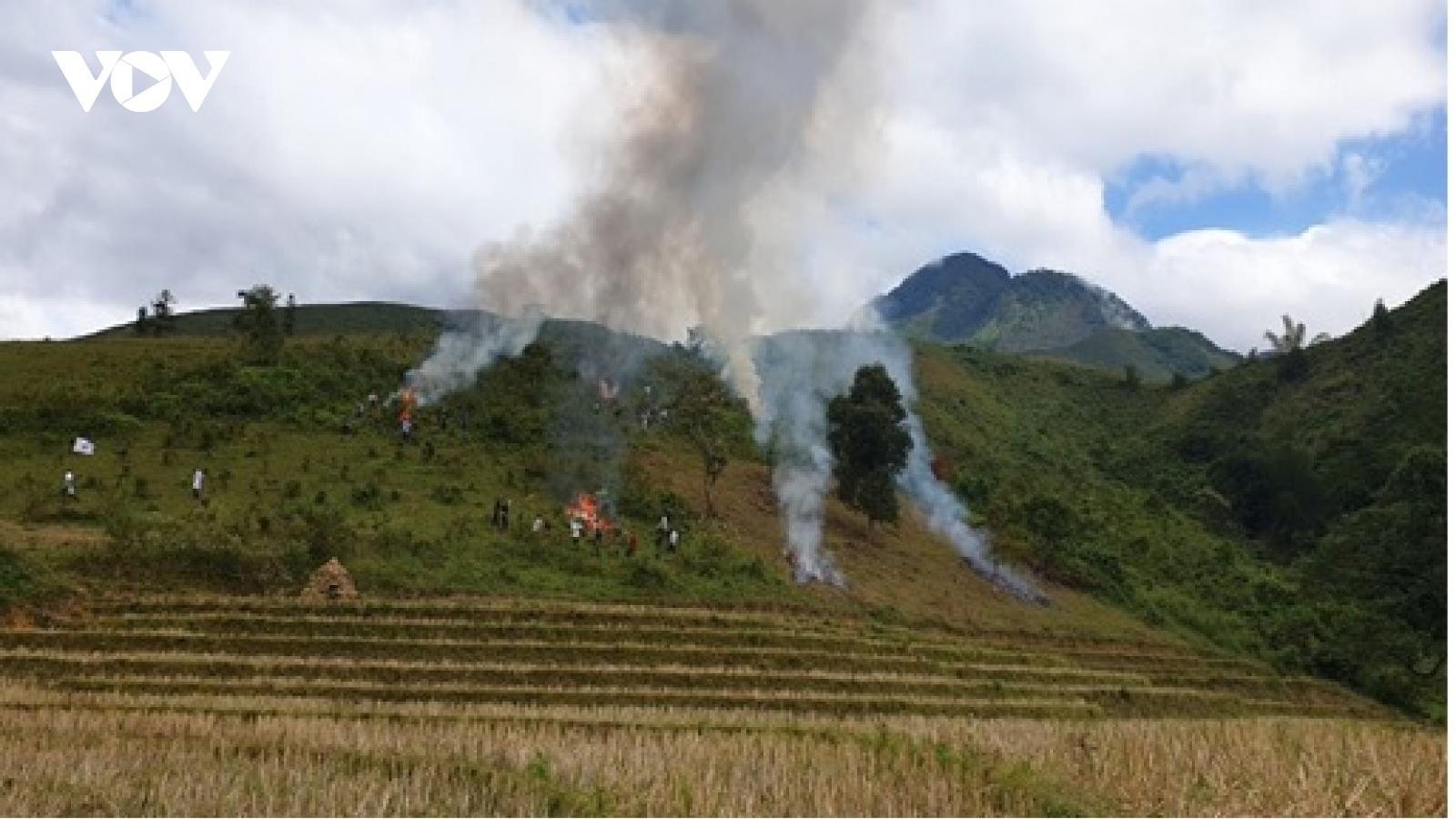 Lào Cai tăng cường phòng chống cháy rừng vào mùa khô