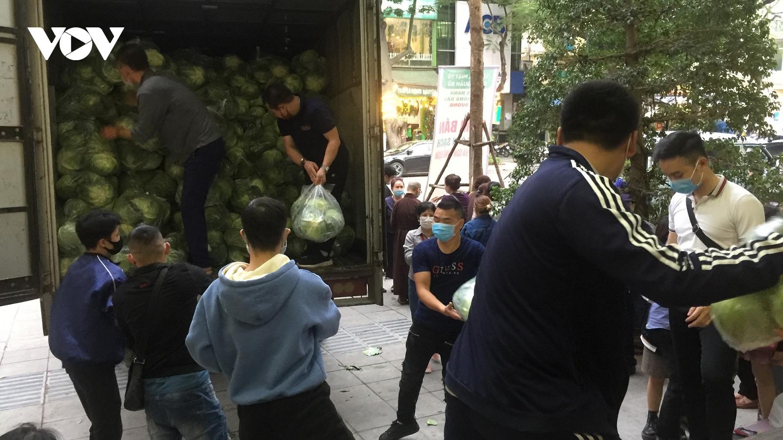 Giáo hội Phật giáo Việt Namchung tay giải cứu nông sản vùng dịch Hải Dương