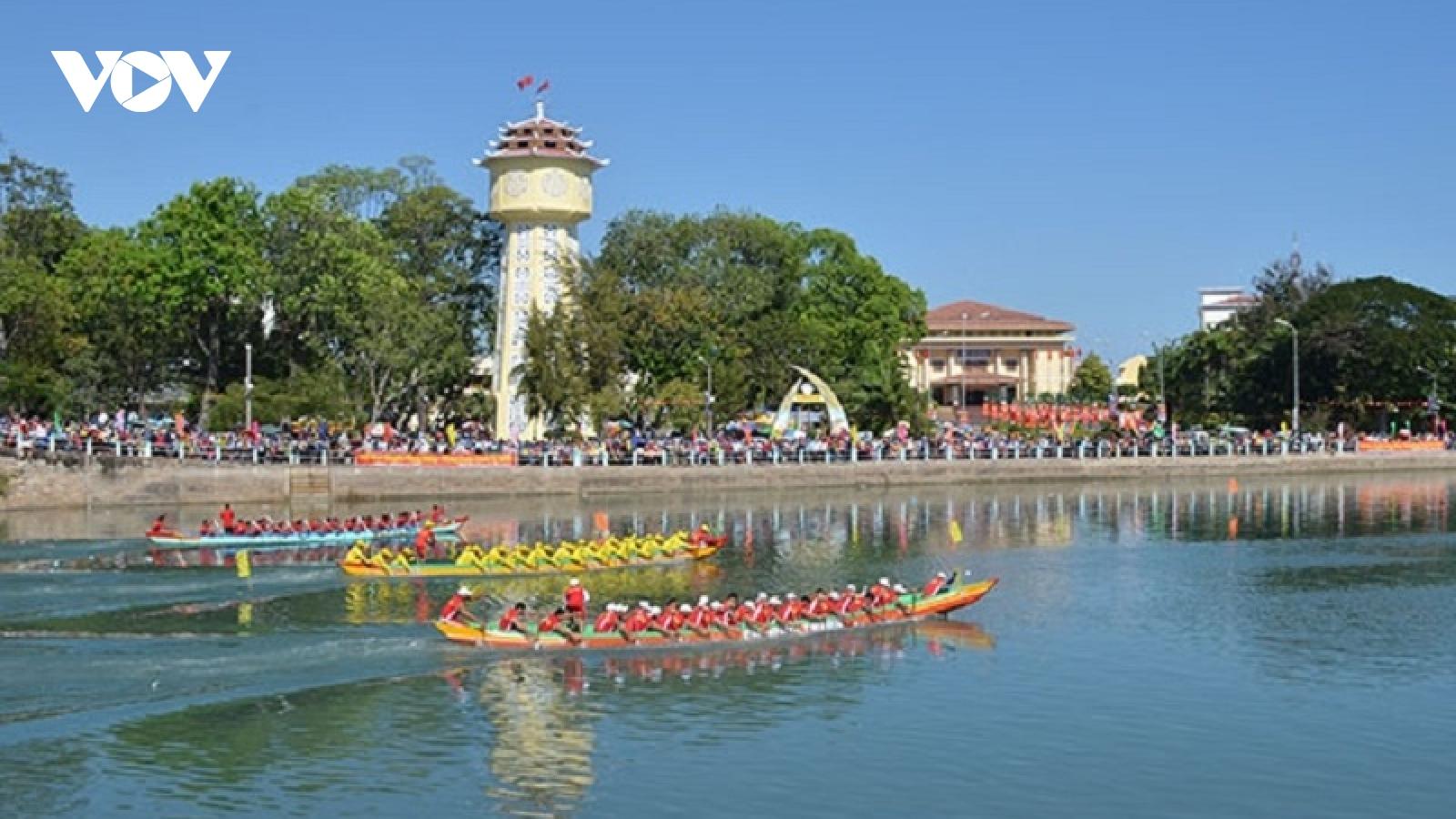Phan Thiết không tổ chức Lễ hội đua thuyền trên sông Cà Ty