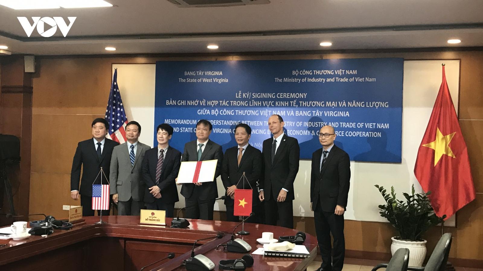 Cơ hội khai thác tiềm năng kinh tế toàn diện giữa Việt Nam và bang Tây Virginia