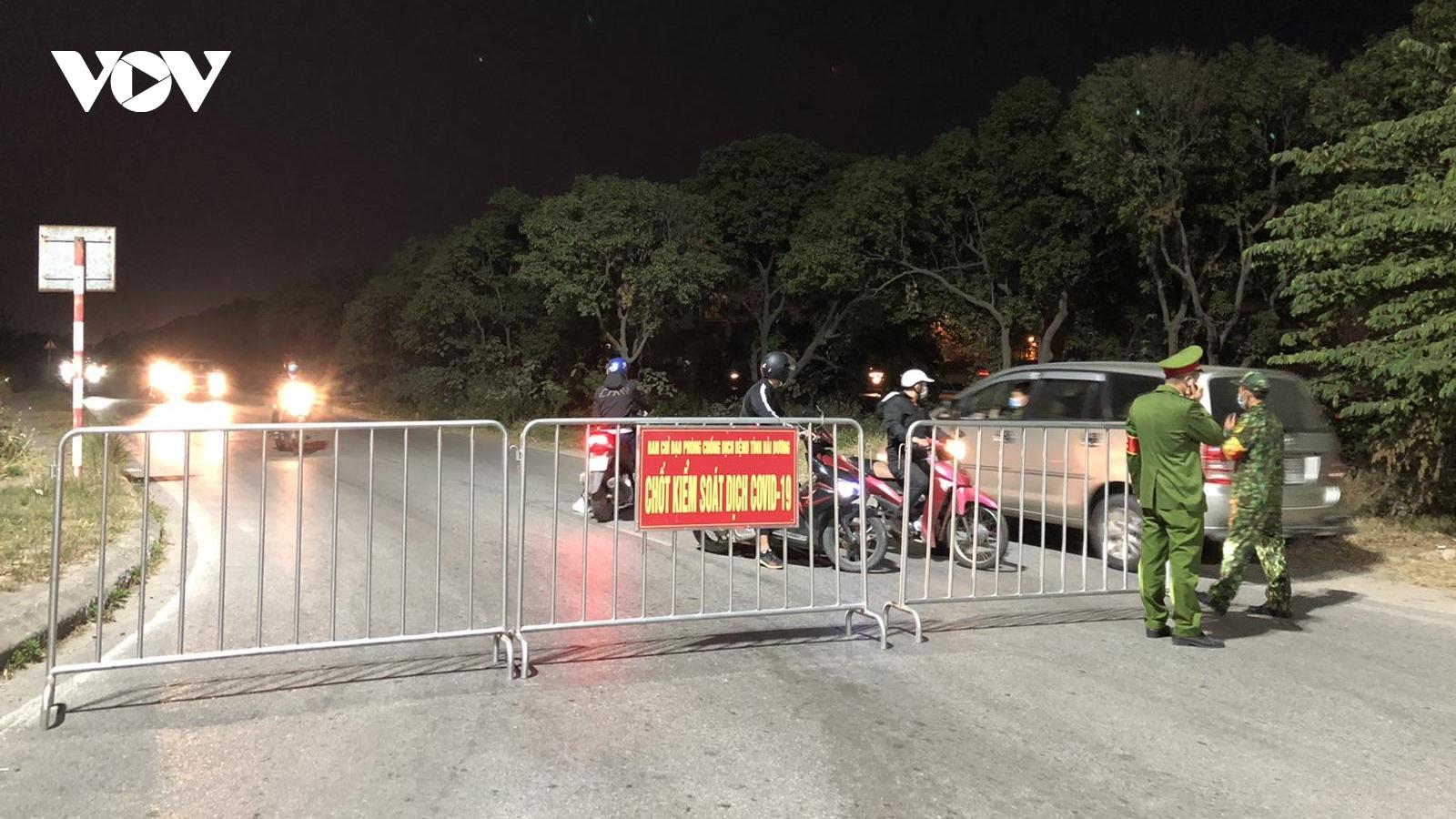 Phong tỏa, cách ly y tế đối với toàn huyện Cẩm Giàng, Hải Dương