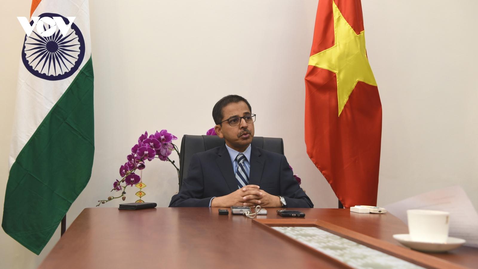Đại sứ Ấn Độ đánh giá Việt Nam sẽ phát triển tích cực sau Đại hội Đảng lần thứ XIII