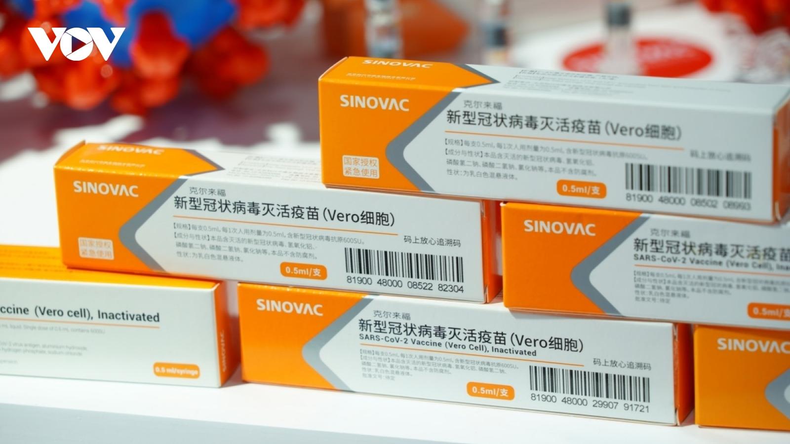 Trung Quốc viện trợ và cung cấp vaccine Covid-19 cho ít nhất 8 nước ASEAN
