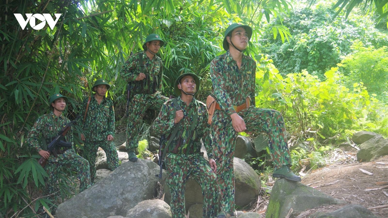 Tăng cường tuần tra, kiểm soát biên giới để người dân đón Tết bình an