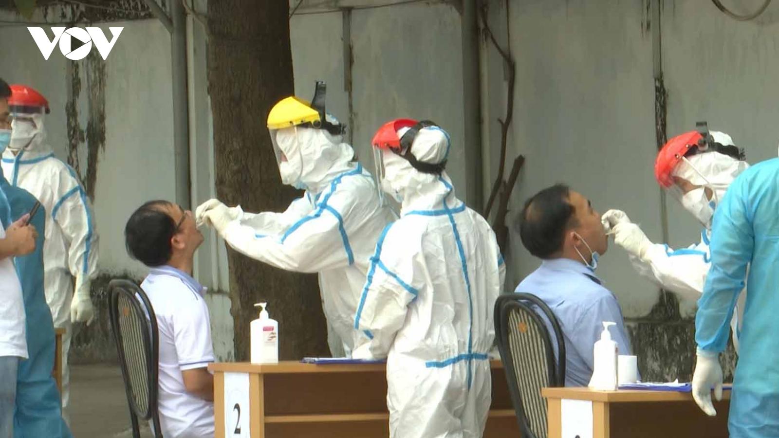 100% mẫu xét nghiệm SARS-CoV-2 của cán bộ, viên chức Bà Rịa Vũng Tàu kết quả âm tính